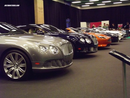 Bentleys and Astons