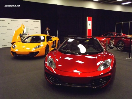 Mclaren 12C Spider and MP4-12C