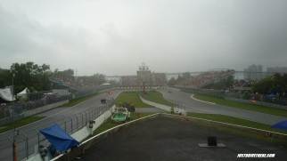 Turn 10, as you can see, wet