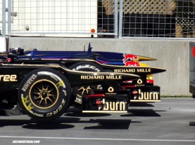 Lotus and Red Bull
