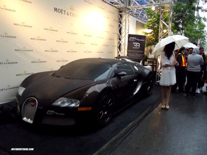 An alleged Bugatti Veyron with 1,600bhp