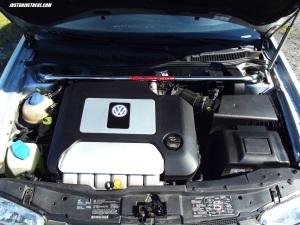 2003 VW Jetta VR6 GLI engine
