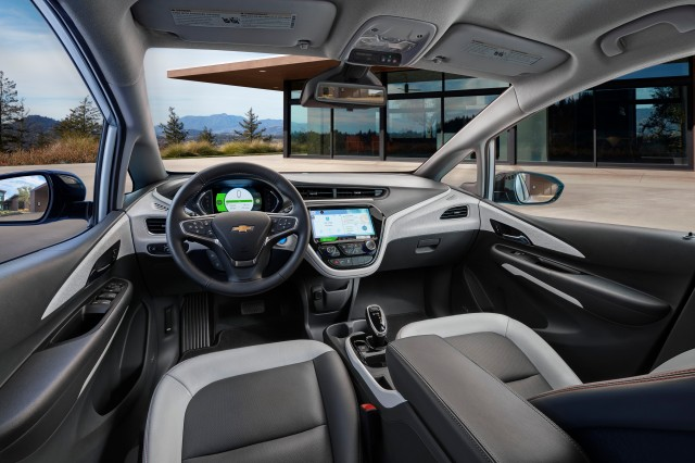 2017 Chevrolet Bolt EV - Interior