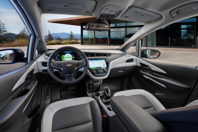 2017 Chevrolet Bolt EV - Interior