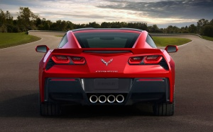 Chevrolet Corvette rear end
