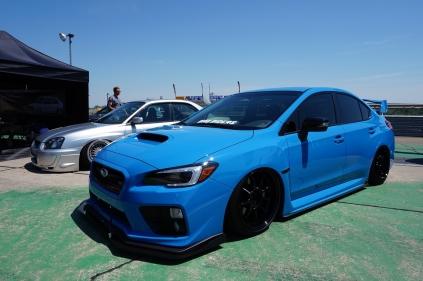 Stanced Subaru WRX