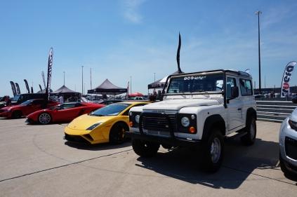 Land Rover and Lamborghini!