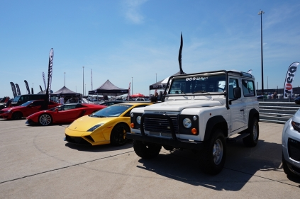 Land Rover and Lamborghini!
