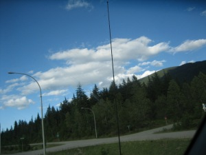 Outside Sicamous