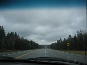 The empty Canadian highway