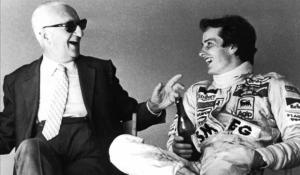 """With Villeneuve you win, even if you lose."" Enzo Ferrari"