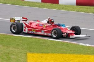 Gille Villeneuve's Ferrari 312T5