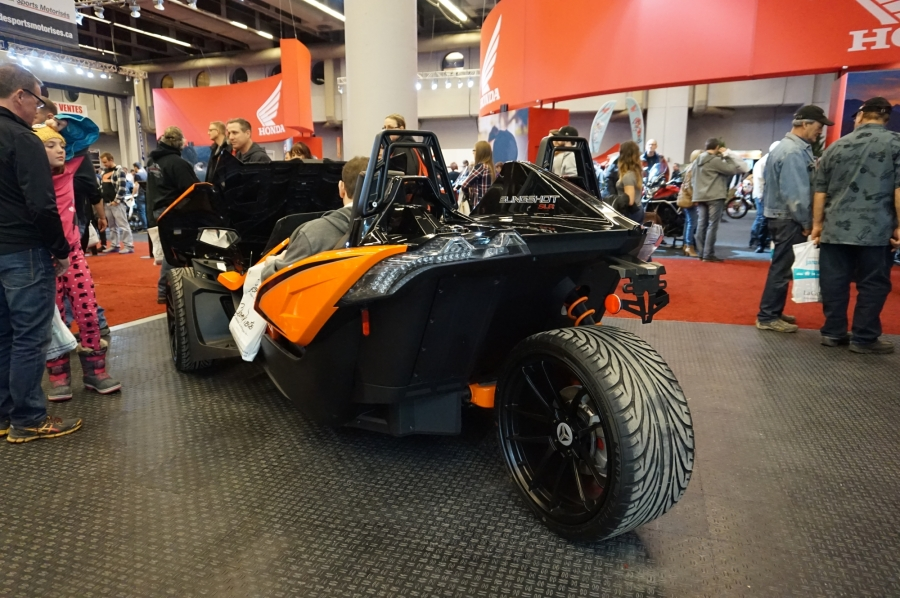 In more familiar territory (Polaris Slingshot)